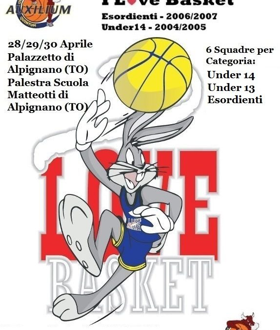CROCETTA AD ALPIGNANO PER 'I LOVE BASKET'