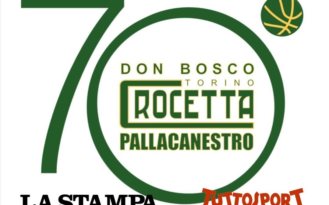 FESTA 70 ANNI, LA STAMPA E TUTTOSPORT AL NOSTRO FIANCO