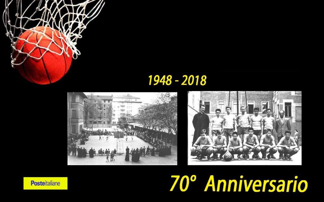 FESTA 70 ANNI, L'ANNULLO FILATELIFICO CELEBRATIVO