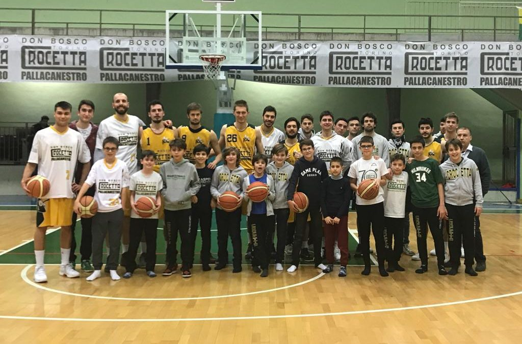 BASKET IN FESTA PER DON BOSCO
