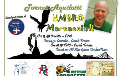 IL 27 APRILE ALLA BALLIN IL 'MEMORIAL UMBRO MARCACCIOLI'