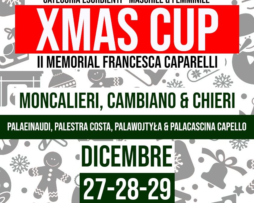 CROCETTA ALLA 'XMAS CUP-MEMORIAL FRANCESCA CAPARELLI'