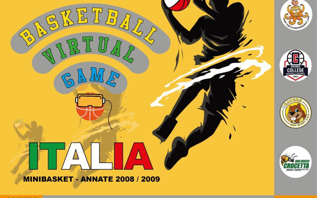 'BASKETBALL VIRTUAL GAME ITALIA' AL VIA PER I 2008 E I 2009