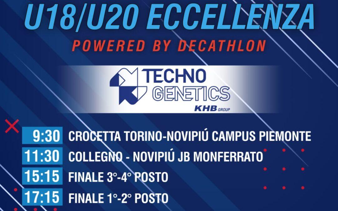 TORNEO 'TECHNOGENETICS' ED ESORDIO STAGIONALE RINVIATI